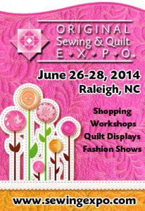 Raleigh Sewing and Quilt Expo