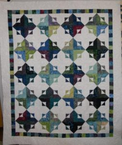 Get the Point Quilt design by Carrie Nelson